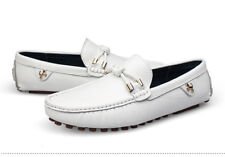 Leisure Genuine  Leather Non-Slip Loafer  Mens Oxfords Moccasins Driving Shoes K