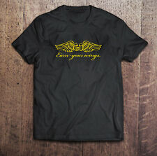 GT Bicycle BMX Earn Your Wing Black T-Shirt Custom Men's S to 3XL