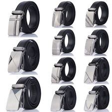 Belt Automatic Buckle Waistband Fashion Strap Metal Mens Formal Leather Belts
