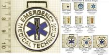 EMT & medical provider decorative fobs, various designs & keychain options