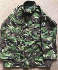 BRITISH ARMY DPM WOODLAND RIP-STOP FIELD JACKET GRADE 2/ ISSUED.