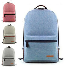 Backpack Campus Satchel Women's Bag School Travel Candy Colors Laptop Canvas