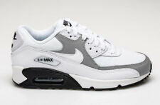 WMNS NIKE AIR MAX 90 LE WHITE WOLF GREY BLACK 325213-126 Womens Running Shoes