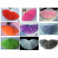 Tutu Ballet Tulle Fluffy Skirt Baby Girl Kids Dance Costume Draped Princess Wear