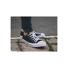 CHAUSSURES FEMMES UNISEX SNEAKERS CONVERSE ALL STAR CHUCK TAYLOR, Basses, Noires