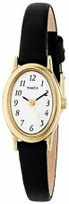 Timex - T21912 Womens Cavatina Gold-Tone Watch W/ Leather Band