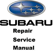 ALL SUBARU LEGACY/OUTBACK FACTORY SERVICE MANUAL FAST SEND 1990 TO 2016