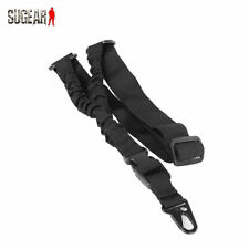 Rifle Sling Airsoft One Point Gun Tactical Single Bungee Strap Adjustable Rope