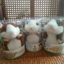 Talking Hamster Toy Pet Mouse Plush Record Speak Mimicry Kids Sound Cute Gift