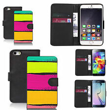 pu leather flip wallet case for many Mobile phones - platonic