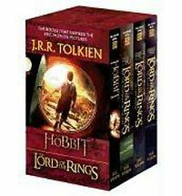 J. R. R. Tolkien 4-Book Boxed Set: the Hobbit and the Lord of the Rings (Movie …