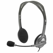 Logitech Stereo Headset H111 - Stereo - Mini-phone - Wired - 32 Ohm - 20 Hz - 20