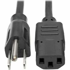 Tripp Lite 20ft Computer Power Cord Cable 5-15P to C13 10A 18AWG20' - For Comput