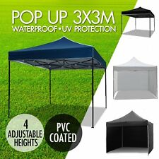 3x3M Gazebo Outdoor Pop Up Tent Folding Marquee Party Wedding Camping  HO