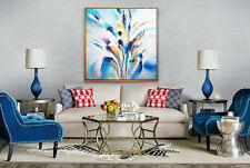 Abstract Acrylic Hand Painting on canvas| Modern Wall Art|Oil Painting 105x105cm