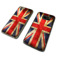 UNION JACK FLAG UK GB CLEAR PHONE CASE COVER fits iPHONE / SAMSUNG (TH)