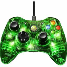 Afterglow Green Light Wired Controller for Xbox 360 - Cable - Xbox 360 - 10 ft C