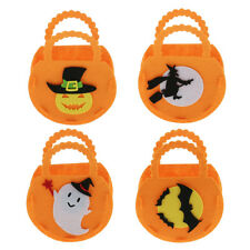 3pcs Halloween Pumpkin Handbag Candy Bags Kids Toy Bag Hallowmas Party Gift Loot