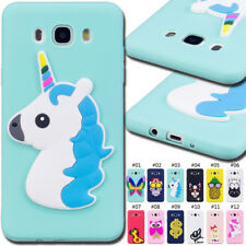 For Samsung Galaxy J5(2016) Rubber TPU Case Silicone Soft Back Skin 3D Gel Cover