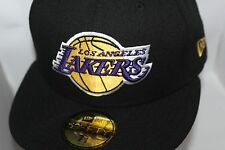 Los Angeles Lakers New Era NBA Black OTC  59fifty,Hat,Cap     $ 34.99     NEW