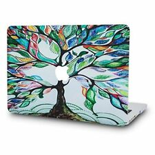 MacBook Air 13 Inch Case Plastic Hard Shell Cover A1369 A1466 Colorful Tree