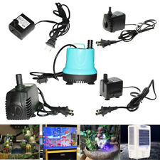 150-2000 L/H ADJUSTABLE SUBMERSIBLE WATER PUMP AQUARIUM POND SUMP PUMP