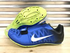 Nike Zoom LJ4 Track and Field Spikes Long Jump Spikes Blue SZ ( 415339-413 )
