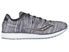 NEW MENS SAUCONY FREEDOM ISO RUNNING SHOES GREY