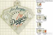 MLB team logo decorative fobs (NL West), various designs & keychain options