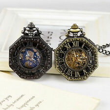 Vintage Pocket Watch Pocket Watch Chain Hollow Carving Mechanical Pocket Watch