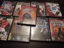 PS2 Playstation 2 games - pick & choose -  rock band / TEKKEN 4 GREATEST HITS