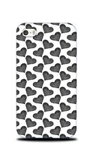 LOVE HEART VALENTINE PATTERN 3 HARD CASE COVER FOR APPLE IPHONE 4 / 4S