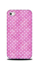 PINK POLKA DOTS PATTERN 16 HARD CASE COVER FOR APPLE IPHONE 4 / 4S