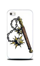 WEAPONS DRAWING MACE HARD CASE COVER FOR APPLE IPHONE 4 / 4S