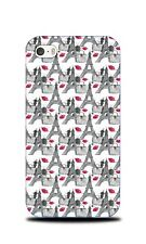 EIFFEL TOWER PARIS PATTERN 4 HARD CASE COVER FOR APPLE IPHONE 4 / 4S