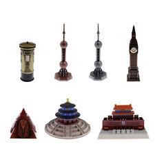 World Famous Building Architecture Model Statue Alloy Big Ben/ Egyptian Pyramid