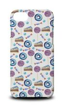 DONUT CAKE CANDY SWEET PATTERN HARD CASE COVER FOR APPLE IPHONE 8