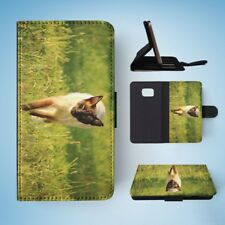 SIAMESE CAT 7 FLIP WALLET CASE COVER FOR SAMSUNG GALAXY S7