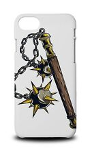 WEAPONS DRAWING MACE HARD CASE COVER FOR APPLE IPHONE 8