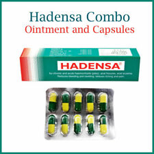 Hadensa combo - 2 x Ointment Tubes and 60 capsules for Piles - {BUY 3 GET1 FREE}