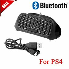 For Sony PS4 PlayStation 4 Accessory Controller Bluetooth Wireless Keyboard MA