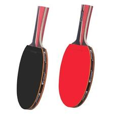 4-Star Pro Table Tennis Racket 7 ply Wooden Blade Professional Ping Pong Paddles