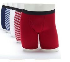 Fruit of the Loom Mens 6-pk Premium Cotton Boxer Briefs Assorted size S NEW