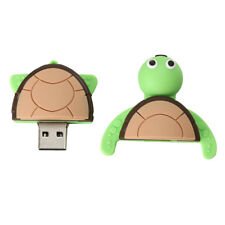 USB 2.0 Memory Stick Flash Pen Drive 3D Cartoon Turtle Shape 16GB/32GB/256GB