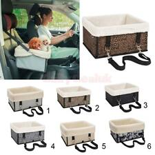 Pet Dog Car Carrier Box Case Booster Seat Kennel with Seat Leash for Puppy Cat