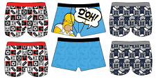 Mens Character Boxers Trunks Underwear Shorts Briefs Gift Novelty Present S-XL