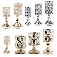 Crystal Wedding Party Tabletop Tealight Votive Candle Holder Centerpieces Decor