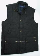 POLO Ralph Lauren PRL Puffer Vest Full Zip Jacket Quilted Plaid Lined NWT