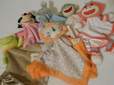 BABY RATTLES SECURITY BLANKET DISNEY CARTERS BABY STARTERS CIRCO GOODNIGHT MOON