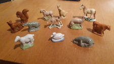 WADE WHIMSIES VINTAGE PORCELAIN CHINA POTTERY ANIMALS - COLLECTABLES